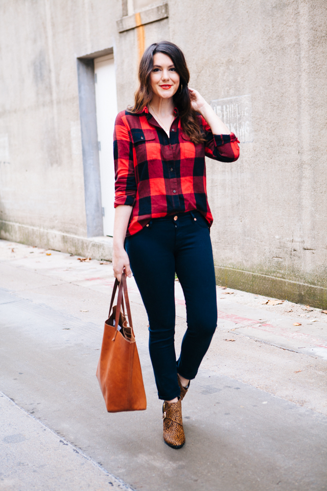 Kendi everyday flannel friday for Flannel shirt and jeans