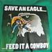 feed it a cowboy