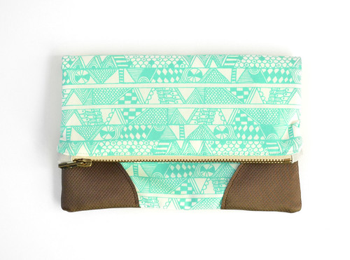 Sarah Watson Indian Summer Fold Over Clutch