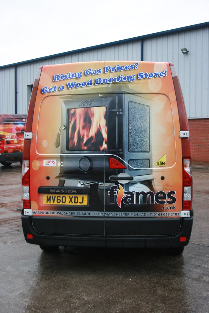Digitally printed vehicle wrap