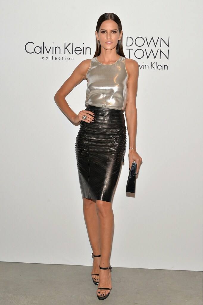Shiny Leather Skirt - Dress Ala