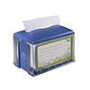 SCA 2311919 Tork Dispenser for Napkins Xpressnap Tabletop Clear / Blue
