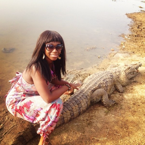Ama K Abebrese Takes On The Crocodile