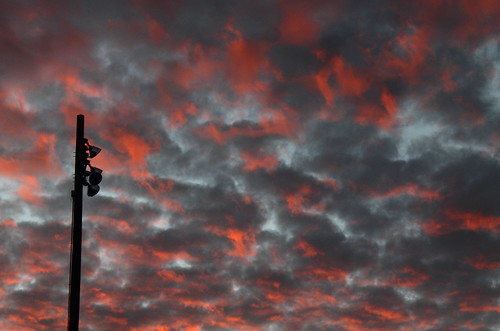 sunset red sky clouds creation altocumulus canonefs1855mmf3556isii