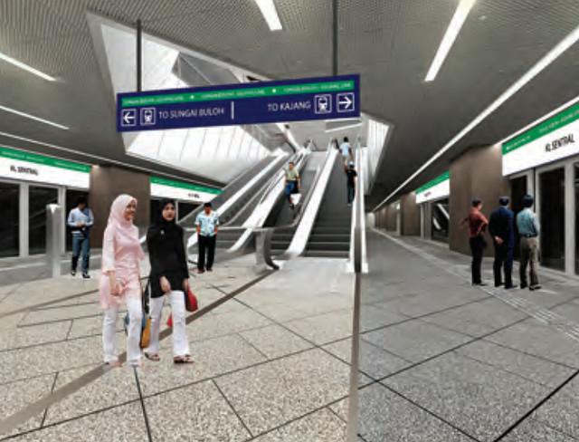 mrt sentral station