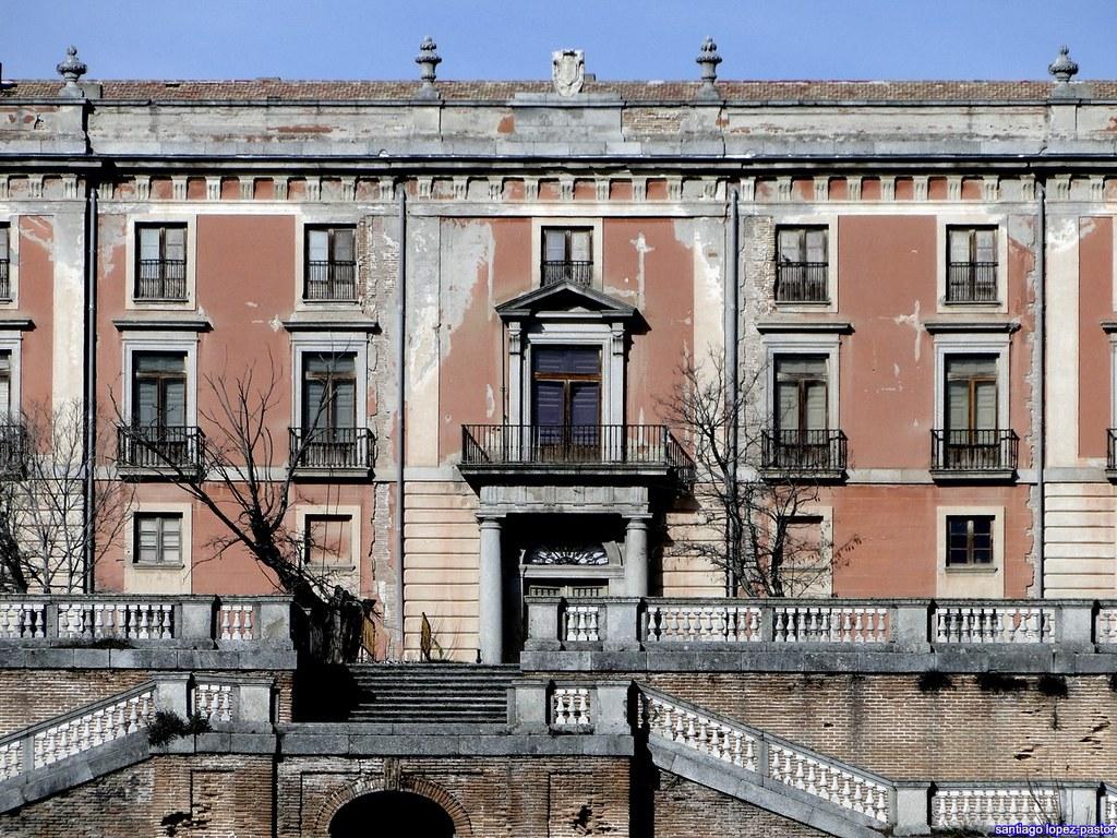 Reconstruction of baroque gardens and possible restoration - Residencia boadilla del monte ...