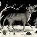 Thylacine (Tasmanian Tiger) by Crispy Copper
