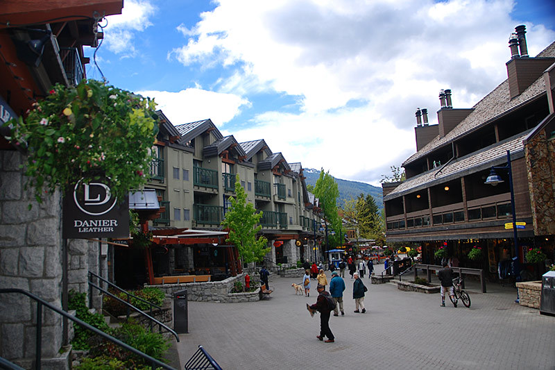 Whistler Village, Whistler, Whistler Valley, Sea to Sky, British Columbia, Canada