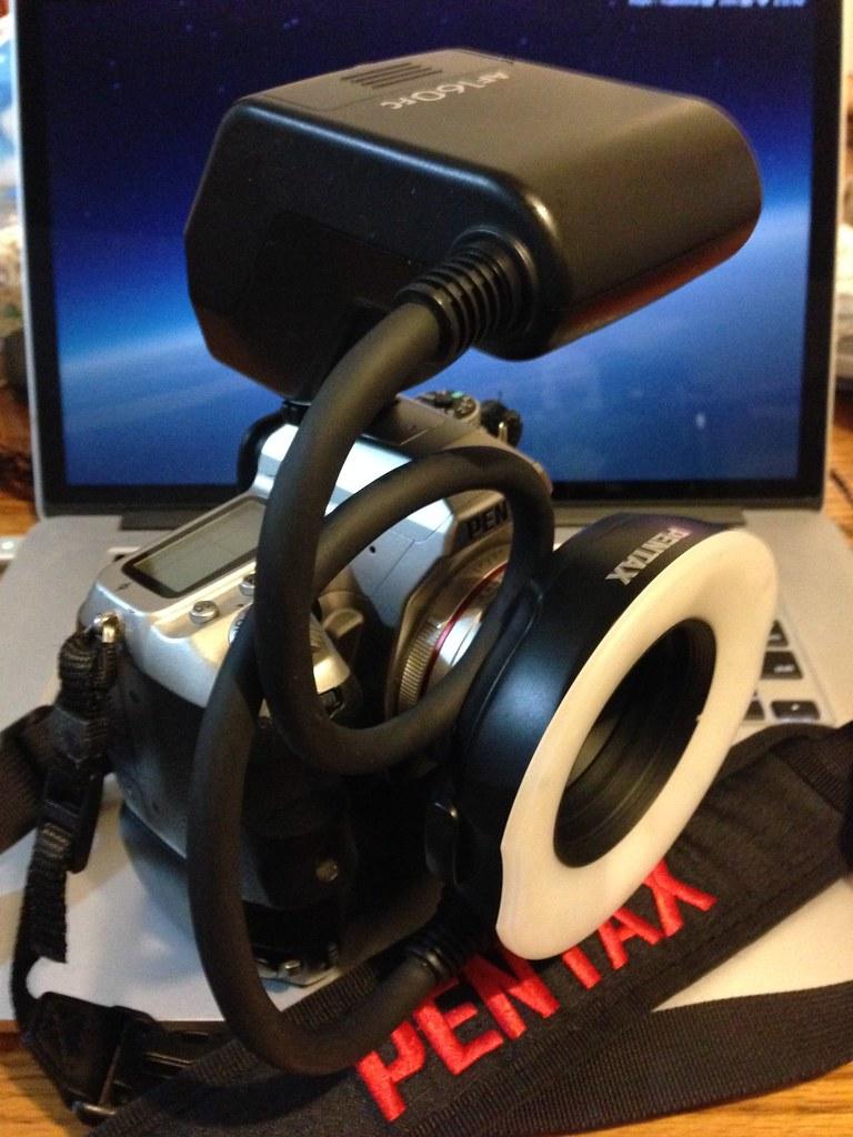 Pentax HD DA21 掛 AF160FC 環閃人像測試心得