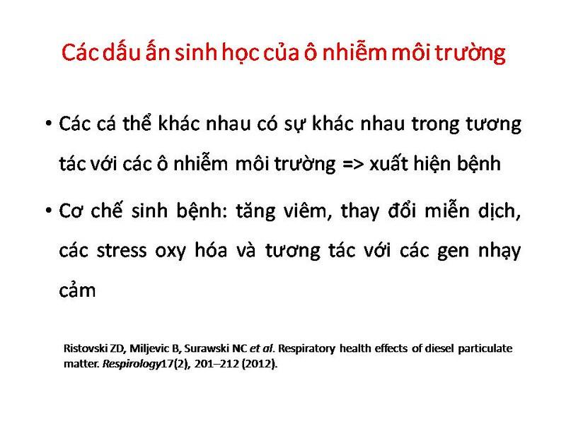 Cá thể hóa và điều trị bệnh phổi tắc nghẽn mạn tính (COPD)