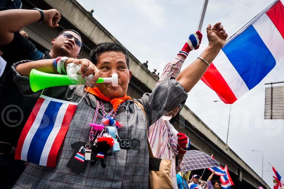 Bangkok Shutdown - Anti Government Protest @ Bangkok, Thailand