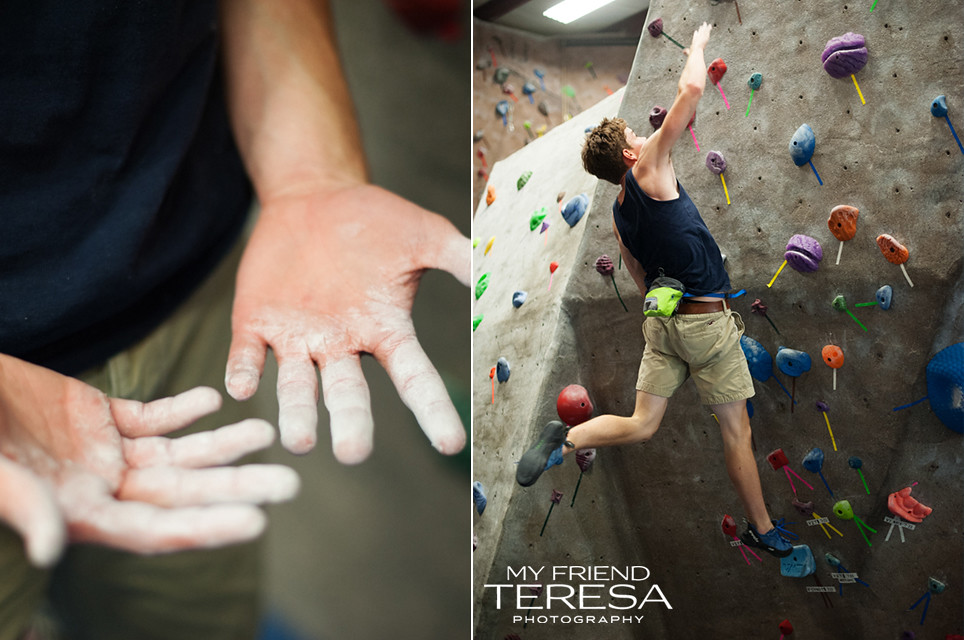 cary academy senior portrait, my friend teresa photography, rock climbing portrait