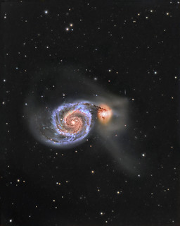 M51 / Arp 85  - The Whirlpool Galaxy # Explored