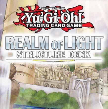 YuGiOh Realm of Light Structure Deck featuring Lightsworn