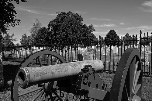Soldiers' National Cemetery, Gettysburg, Pennsylvania USA
