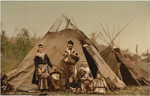 A-Sami-Lapp-family-in-Norway-around-1900