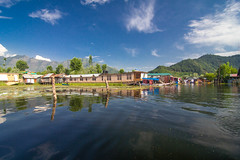 Houseboats in Dal Lake,Srinagar