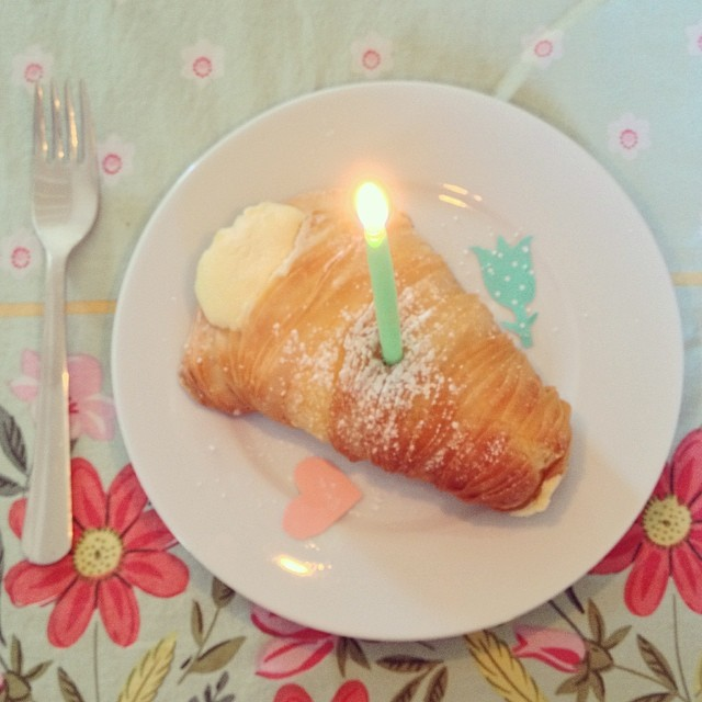 Lobster Tail pastry from Holy Canoli!