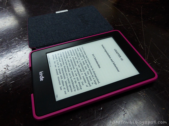 My Kindle Paperwhite 2