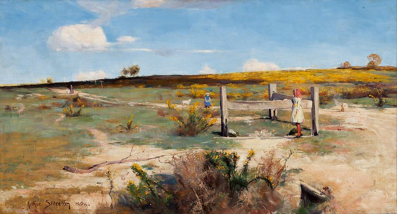 Arthur Streeton - Early summer (1888)