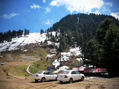 Snow in Malam Jabba, KPK, Pakistan