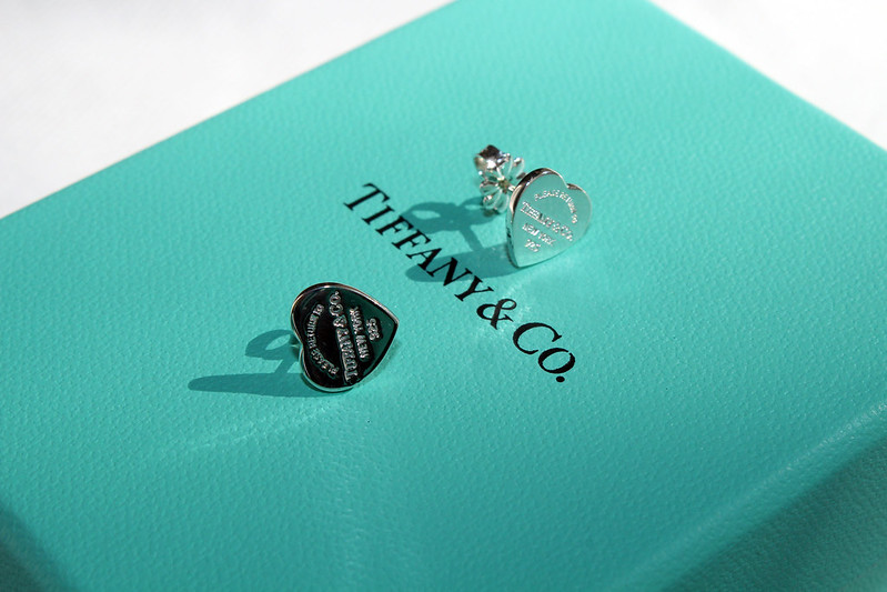Tiffany & Co Heart Earrings
