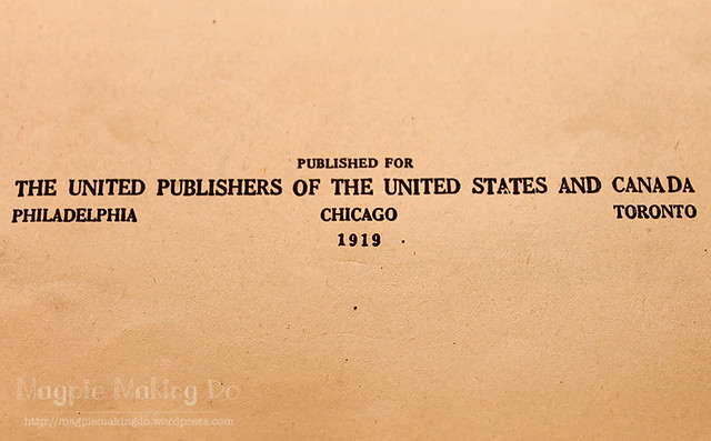 History of the World War copyright