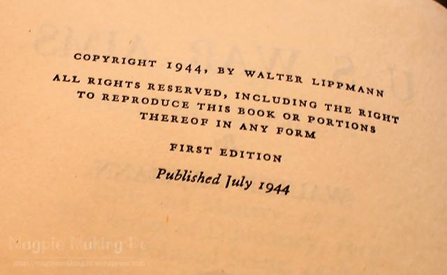 War Aims copyright
