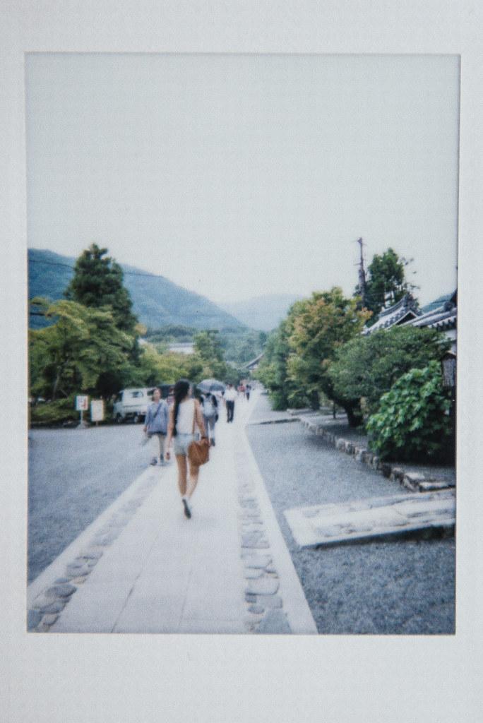 japan instax | arashiyama