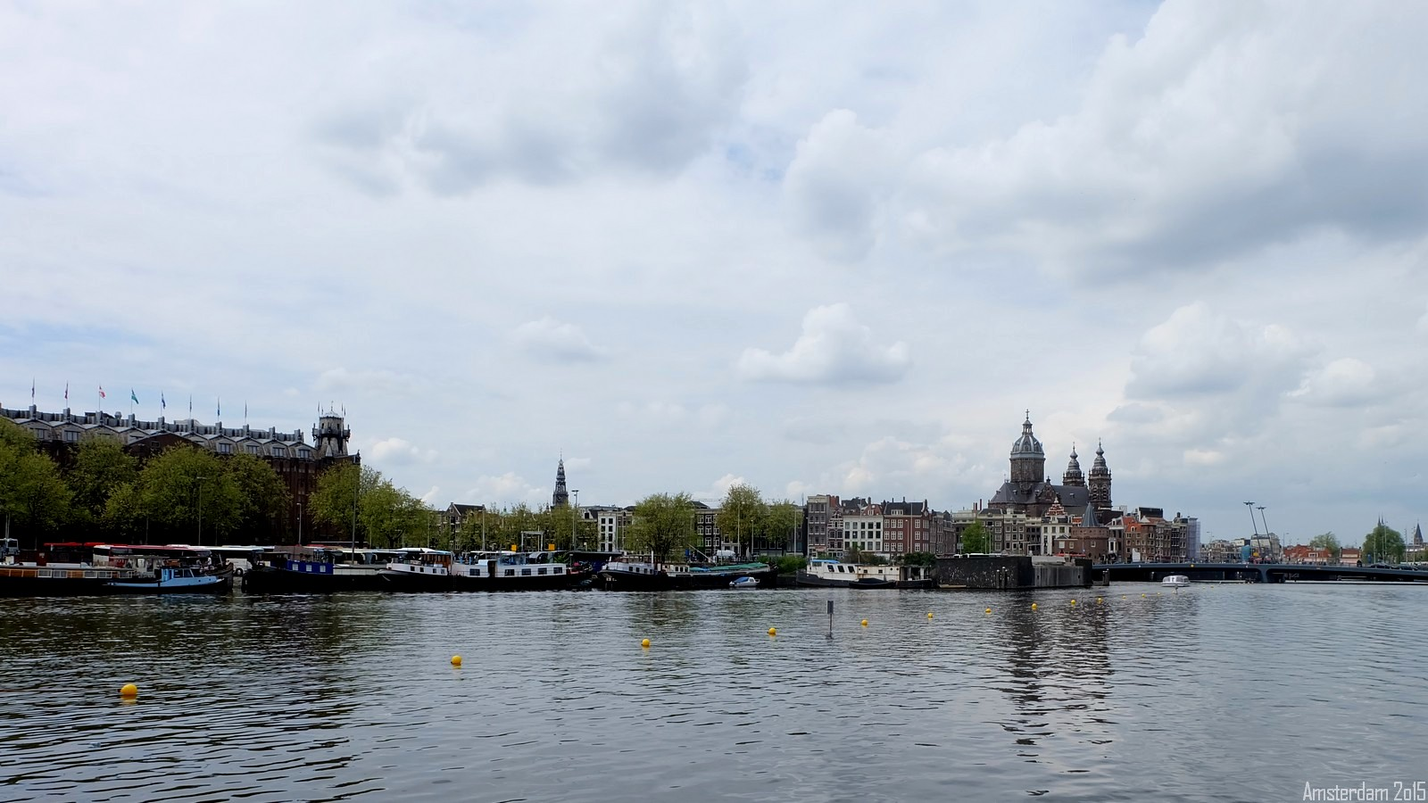View from Oosterdokstade, Amsterdam, Nederland