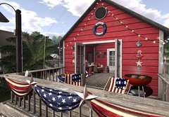 4th of July Beach Shack: Americana