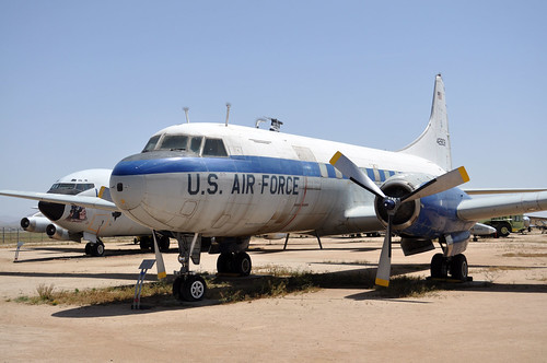 54-2808 C-131D SAMARITAN CONVAIR USAF RIV MARCH FIELD MUSEUM