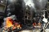 Besieged by death by Dimashqi Lens ( Take a look on Syria)