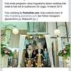 Foto kirab pengantin Jawa di pernikahan Kak Indah & Kak Adi. Wedding di UII Yogyakarta, 14 Maret 2015. Foto wedding by @Poetrafoto, buka http://wedding.poetrafoto.com untuk lihat foto pernikahan lainnya. Makasiiih :thumbsup::blush::heart_eyes:
