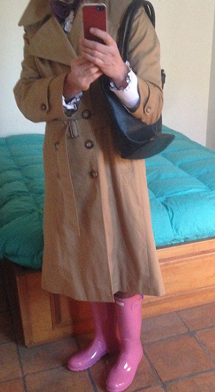 bowtie raincoat and gloss rhodonite hunters