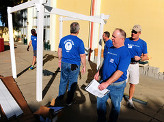 Brown-Forman Group Service Day Volunteers at OMC