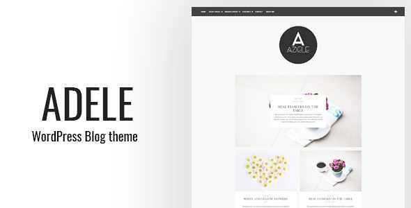 Adele WordPress Theme free download