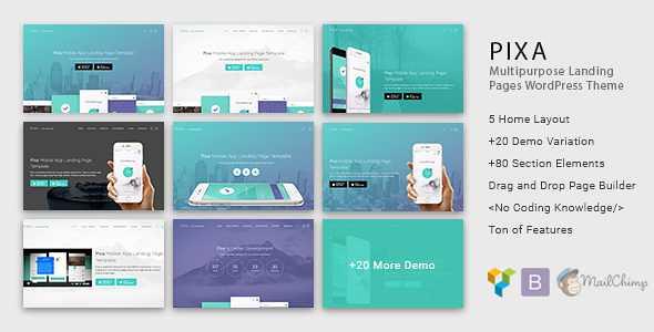 Pixa WordPress Theme free download