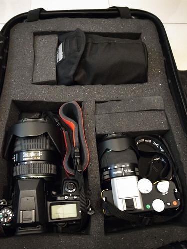 [開箱] Nikon登機箱DIY小改造