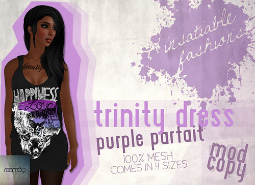 [IF] Room69 Item: Trinity Dress in Purple Parfait