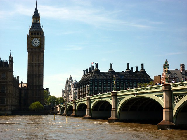 """Big Ben"" and Westminster Bridge"