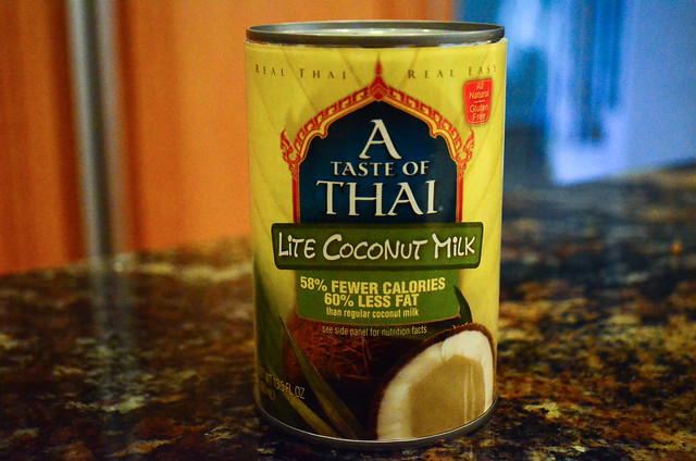 A can of Lite coconut milk.