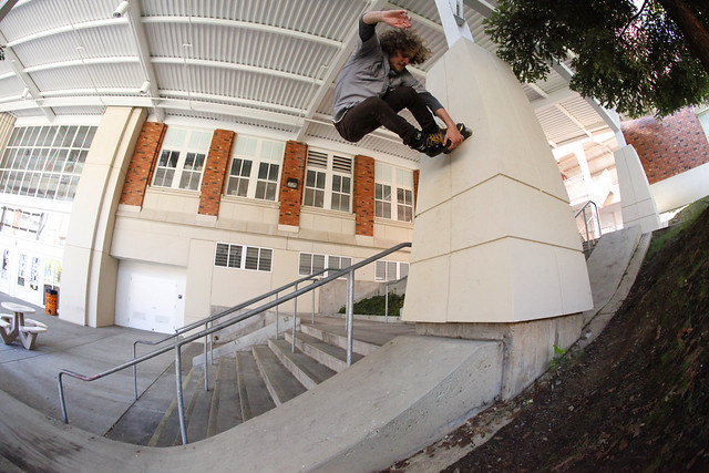 John Vossoughi - Wall Ride. San Mateo, CA