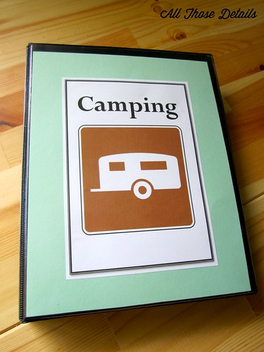 Camping Notebook Top