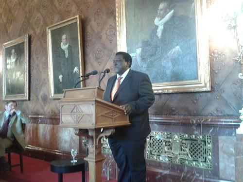 Senatsfrühstück aus Anlass des Besuchs des Bürgermeisters aus Dar es Salaam
