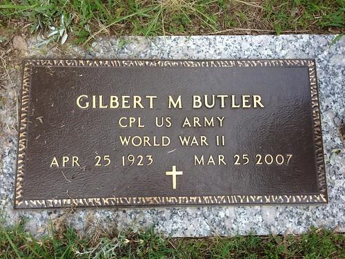 Gilbert M Butler