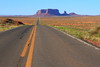 Monument Valley on the road