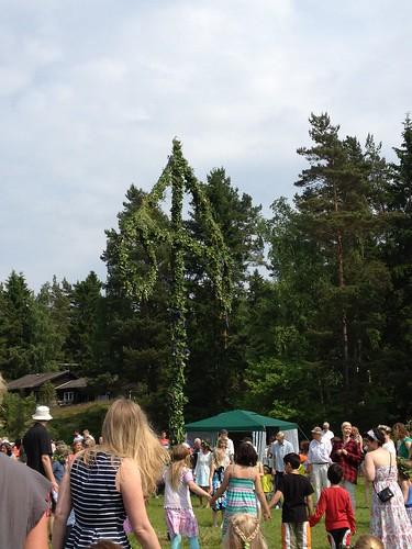 Midsummer, Muskö, Sweden