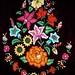 Embroidery for a fancy local bloose - Huipiles de Juchitán de Zaragoza, Región Istmo, Oaxaca, Mexico por Lon&Queta