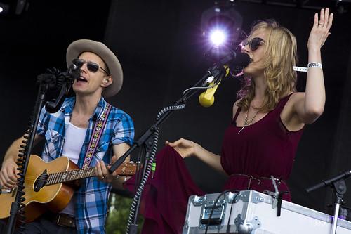 Whitehorse @ Toronto Underground Roots Festival 7/7/2013